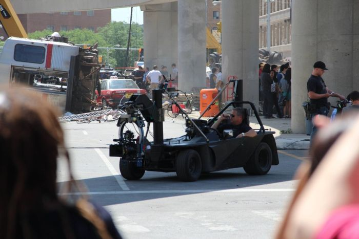 On the Set of the Transformers 4 (38 pics)