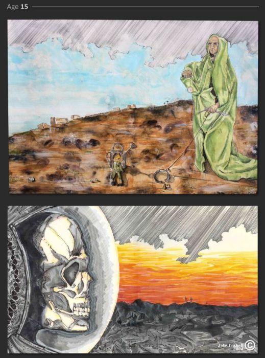 A Painter's Progress (23 pics)