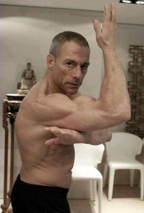 Jean-Claude Van Damme 25 Years Later (2 pics)