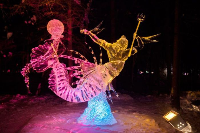 The World Ice Art Championship (25 pics)