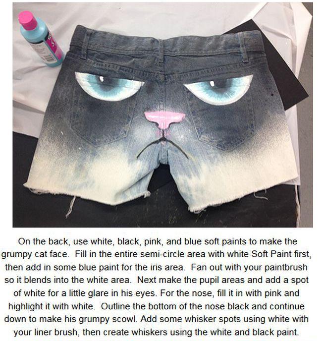 Grumpy Cat Shorts (9 pics)