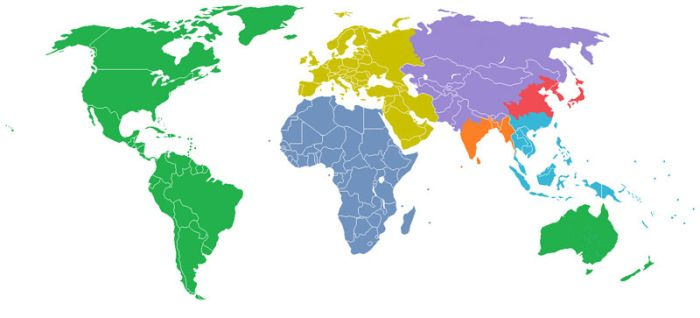 Maps That Will Help You Understand the World (41 pics + video)