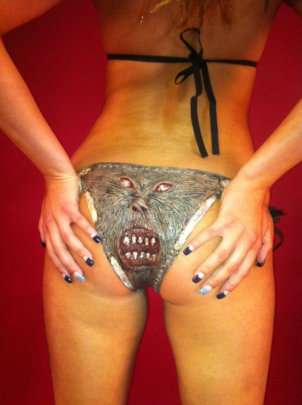 The Necronomicon Bikini (5 pics)