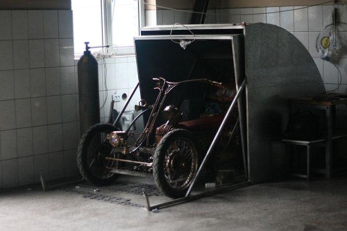 Steampunk Trike (33 pics)