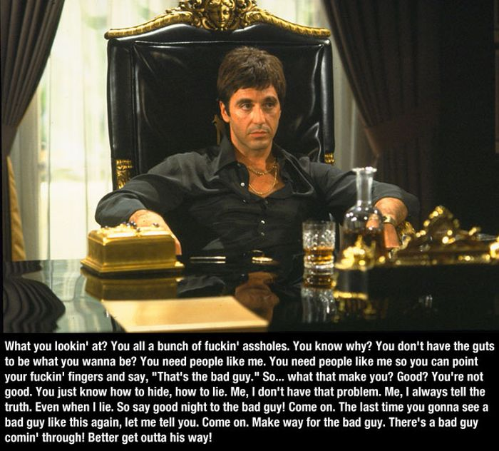 Scarface Quotes 10 Pics