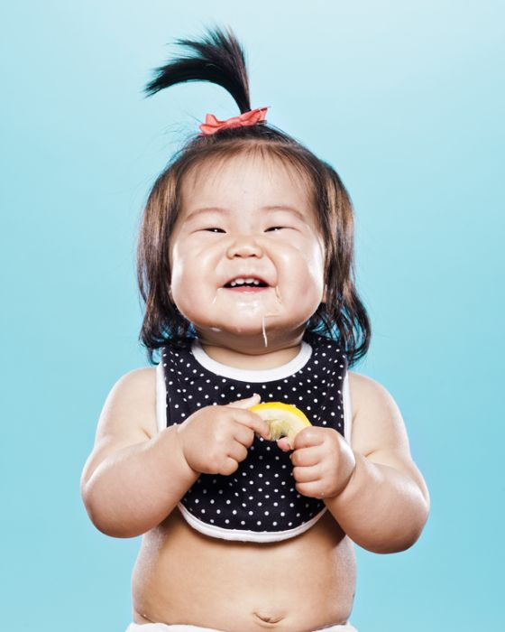 Babies vs Lemon (18 pics)