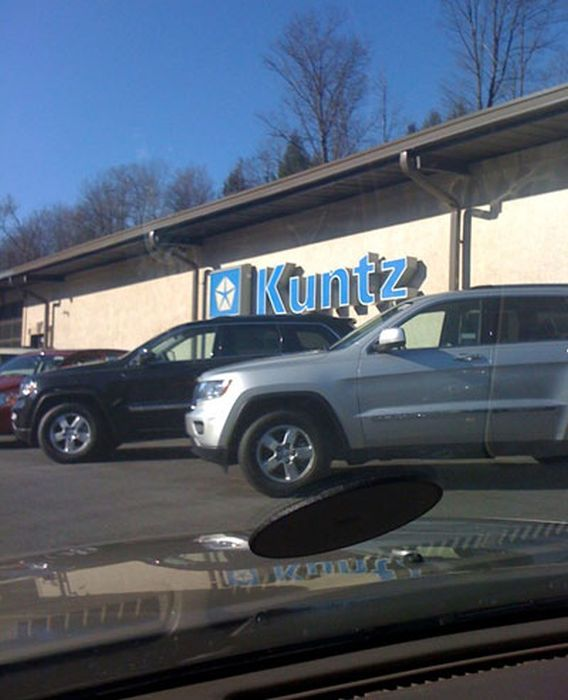 Funny Car Dealership Names (19 pics)