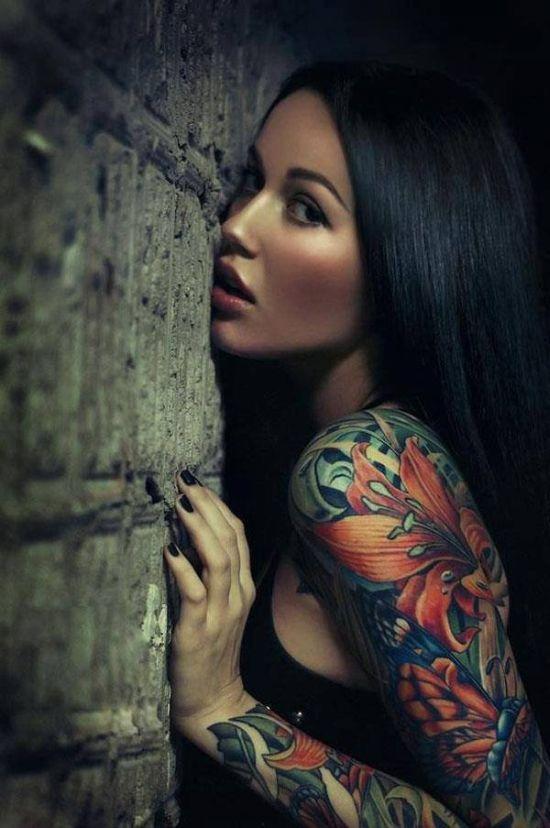 Tattoo Girls (40 pics)