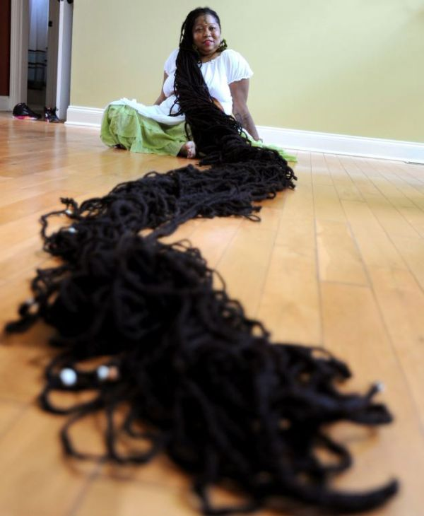 The Real Life Rapunzel (12 pics)