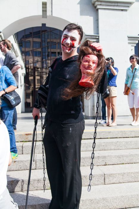 Zombie Walk in Saint Petersburg, Russia (46 pics)