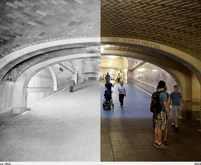 Then Meets Now in New York City (17 pics)