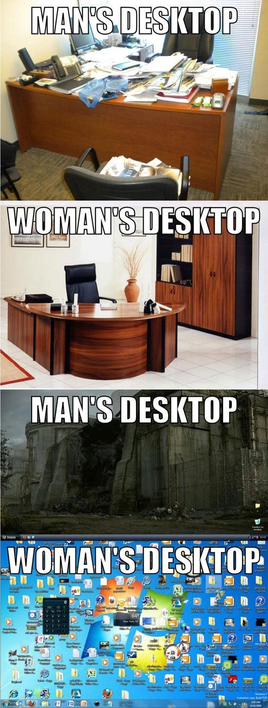 Men vs Women (20 pics)