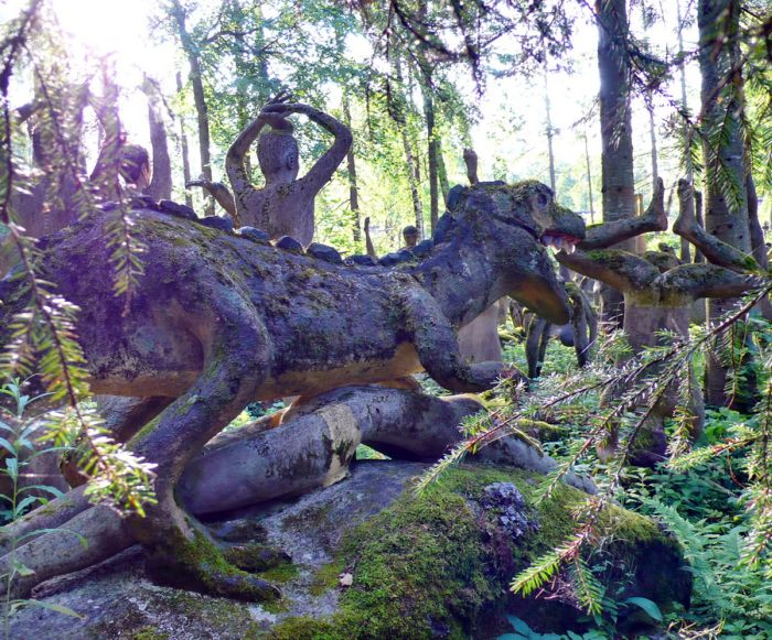 Creepy Forest in Finland (56 pics)