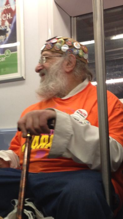 Unusual People Spotted in Subway (83 pics)