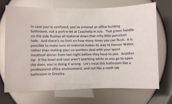 Passive-Agressive Office Notes (21 pics)
