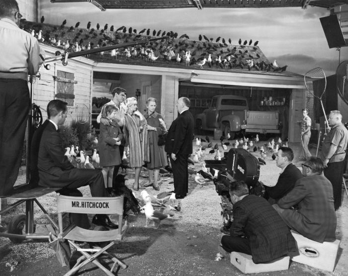 Behind The Scenes of the Classic Movies (31 pics)