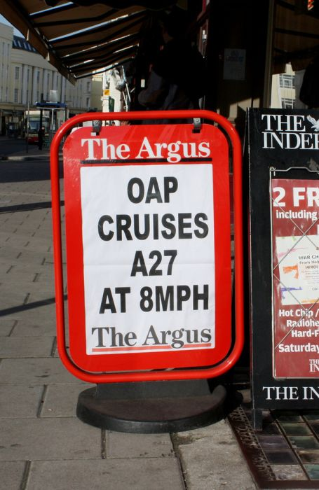 """The Argus"" Headlines (30 pics)"