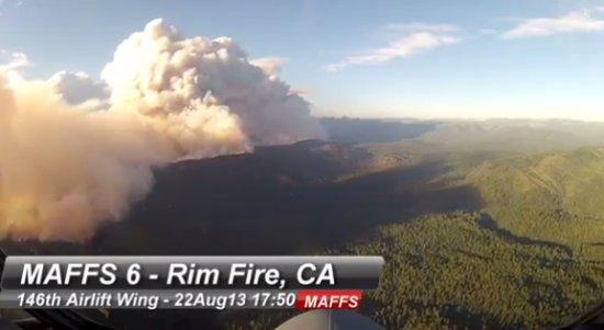 Rim Fire From The MAFFS 6 Cockpit