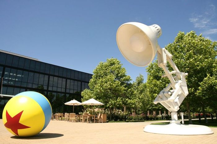 Pixar Offices in California (24 pics)