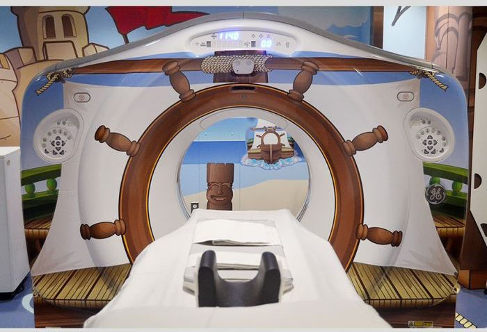 Pirate-themed CT Scanner (9 pics)