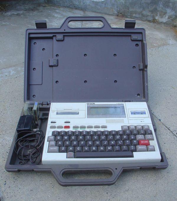 Epson HX-20 (11 pics)