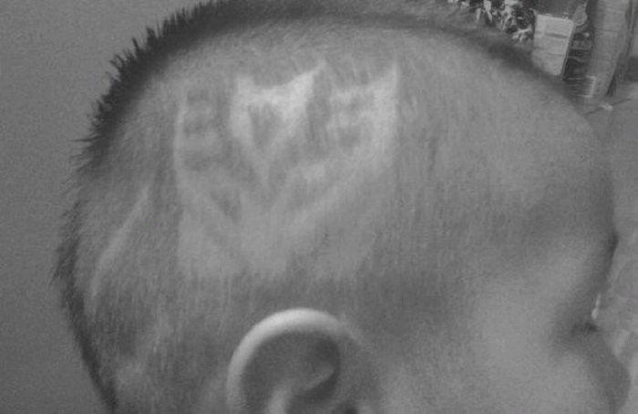 Hair Tattoos (34 pics)