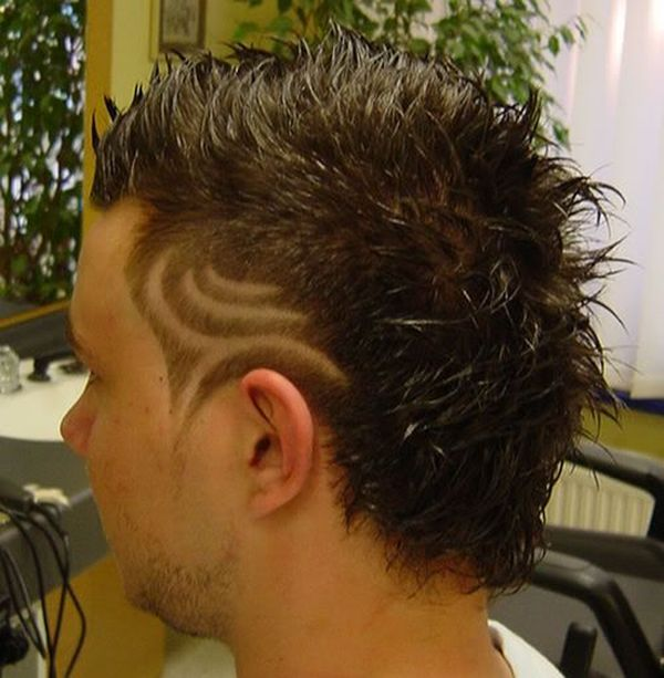Hair Tattoos (34 pics)