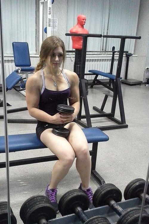 Strong Girl Julia Vins (21 pics)