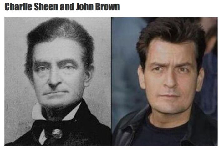 Celebrities Who Have Doppelgangers in History (19 pics)