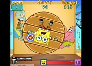 Terrific Spongebob Darts