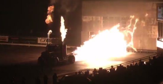 Inferno Truck Fire Show