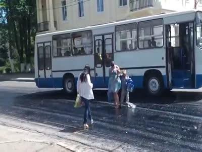 Pedestrians Got Stuck