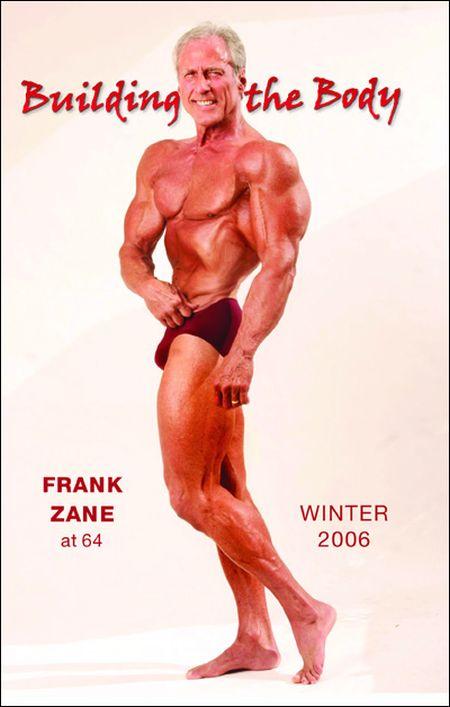 Frank Zane. 1972 vs 2012 (5 pics)