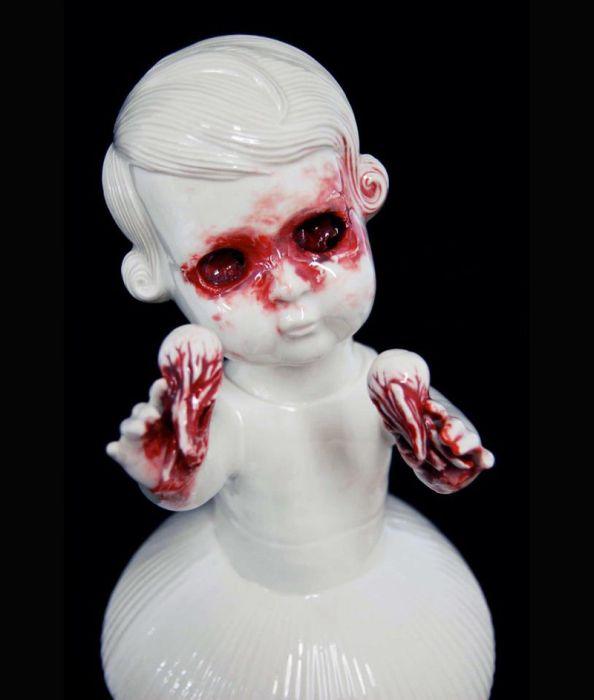 Bloody Art by Maria Rubinke (31 pics)