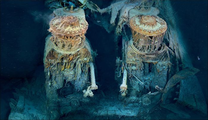 Wreck of the RMS Titanic (42 pics)