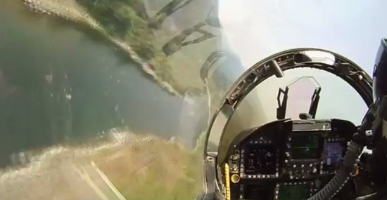 Amazing F18 Jet Fighter Low Flight