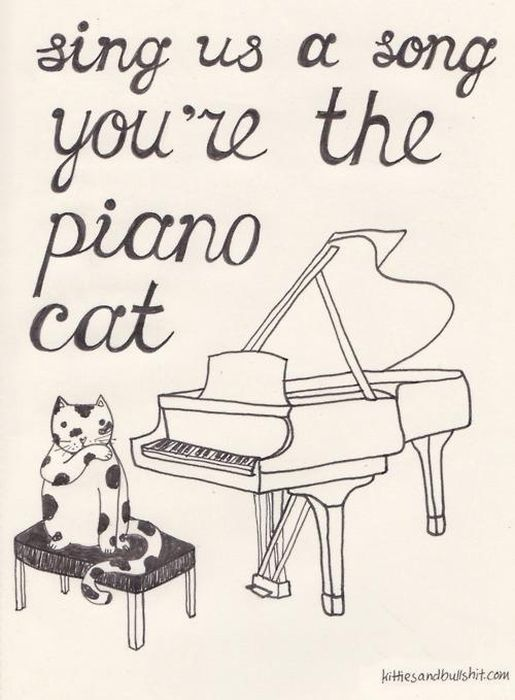 Classic Songs Made Better With Cats (20 pics)