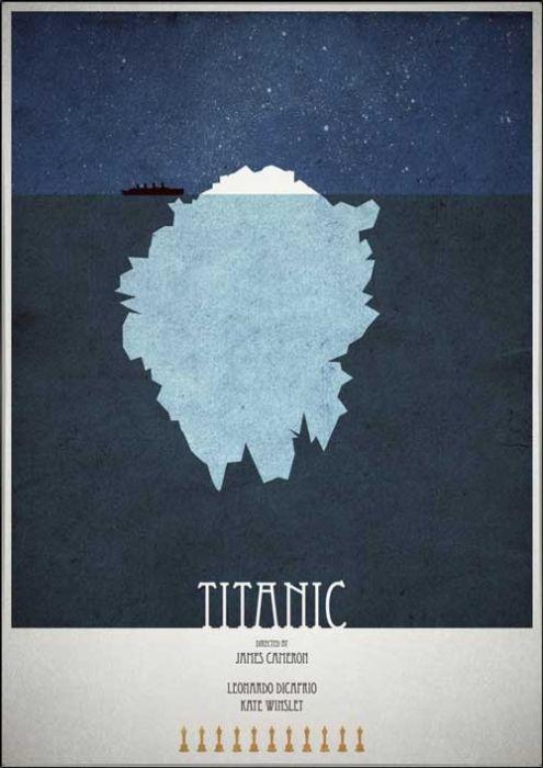 Minimalistic Film Posters (40 pics)
