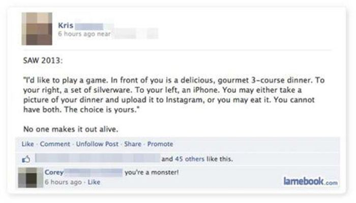 Stupid and Funny Status Updates and Comments (24 pics)