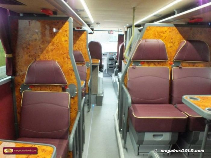 Bus with Beds by Van Hool (17 pics)