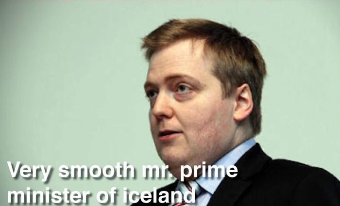 Prime Minister of Iceland Has an Awkward Sense of Style (4 pics)
