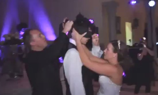 Unexpected Wedding Prank