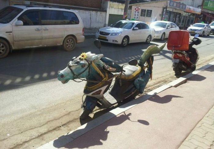 Funny and Odd Things Spotted on the Road (87 pics)