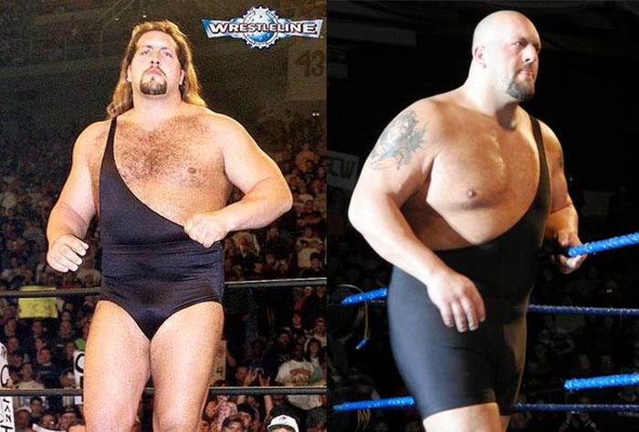 Wrestlers Then and Now (19 pics)