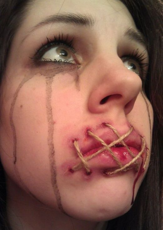 This Girl is Good at Makeup (9 pics)