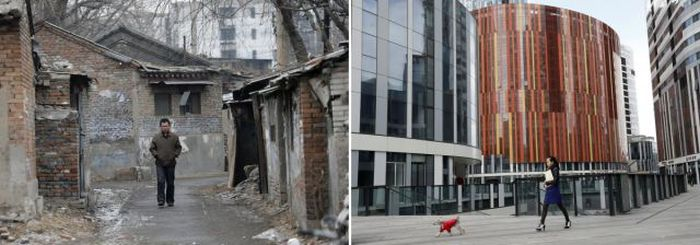 China's Massive Wealth Gap in Photos (22 pics)