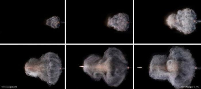Gun Shots in Slow Motion (35 pics)
