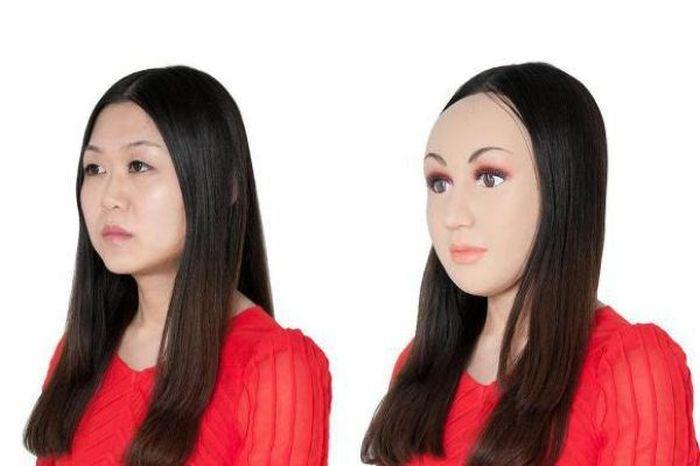 Plastic Face Mask Uniface (11 pics)