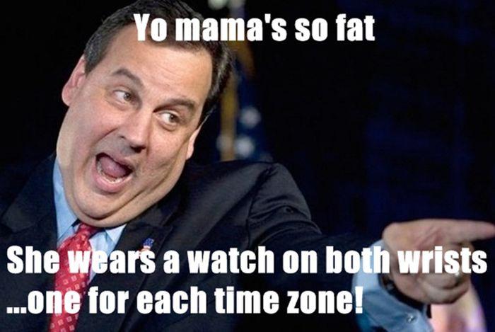 Old School Yo Mamma Jokes (25 pics)