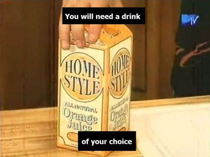 Juice Prank (8 pics)